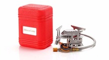 Outdoor Portable Folding Gas Stove Camping Gas Stove Equipment for Camping Picnic 3500W Igniter