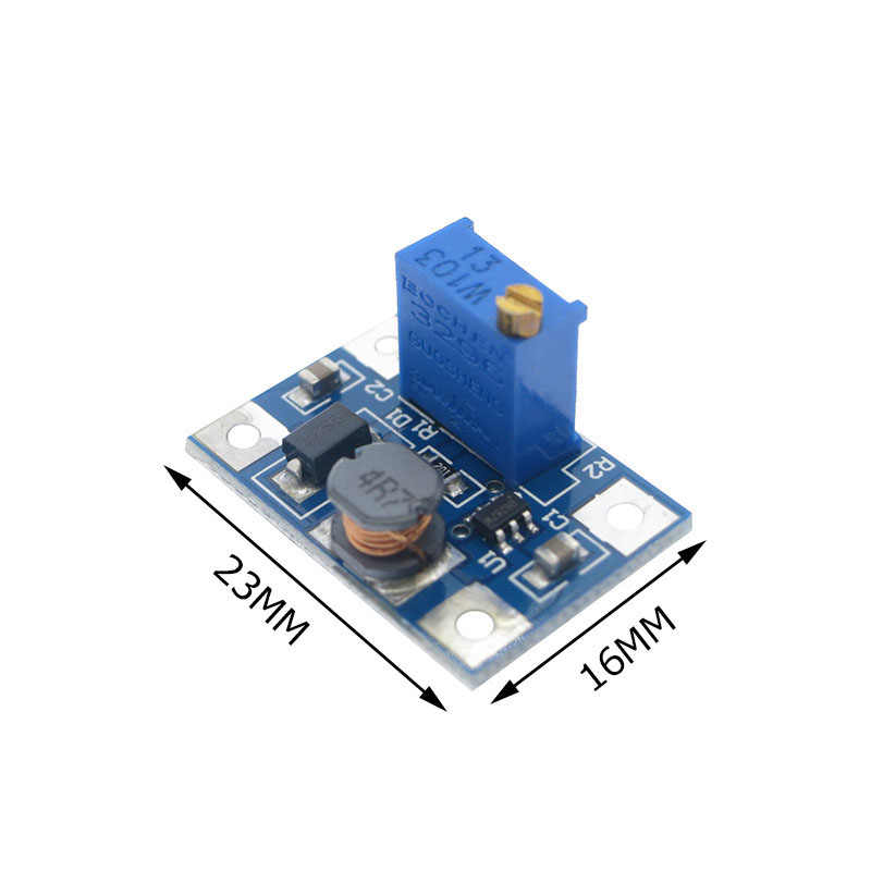 SX1308 DC-DC 2-24V à 2-28V 1.2MHz 2A Module de puissance réglable transformateur de convertisseur de Booster