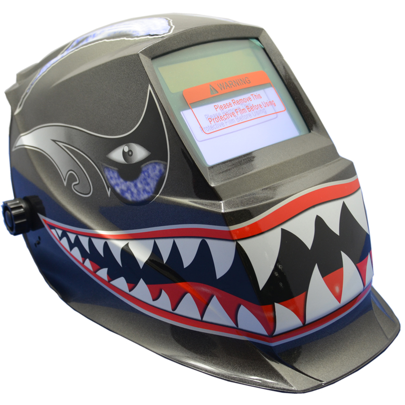 2233de 2019 Latest Design Welding Helmet Silver Eye And Face Protective Solar And Battery Welding Mask Auto Darkening Adjust Full Automatic Hs02-a Welding Helmets Welding & Soldering Supplies