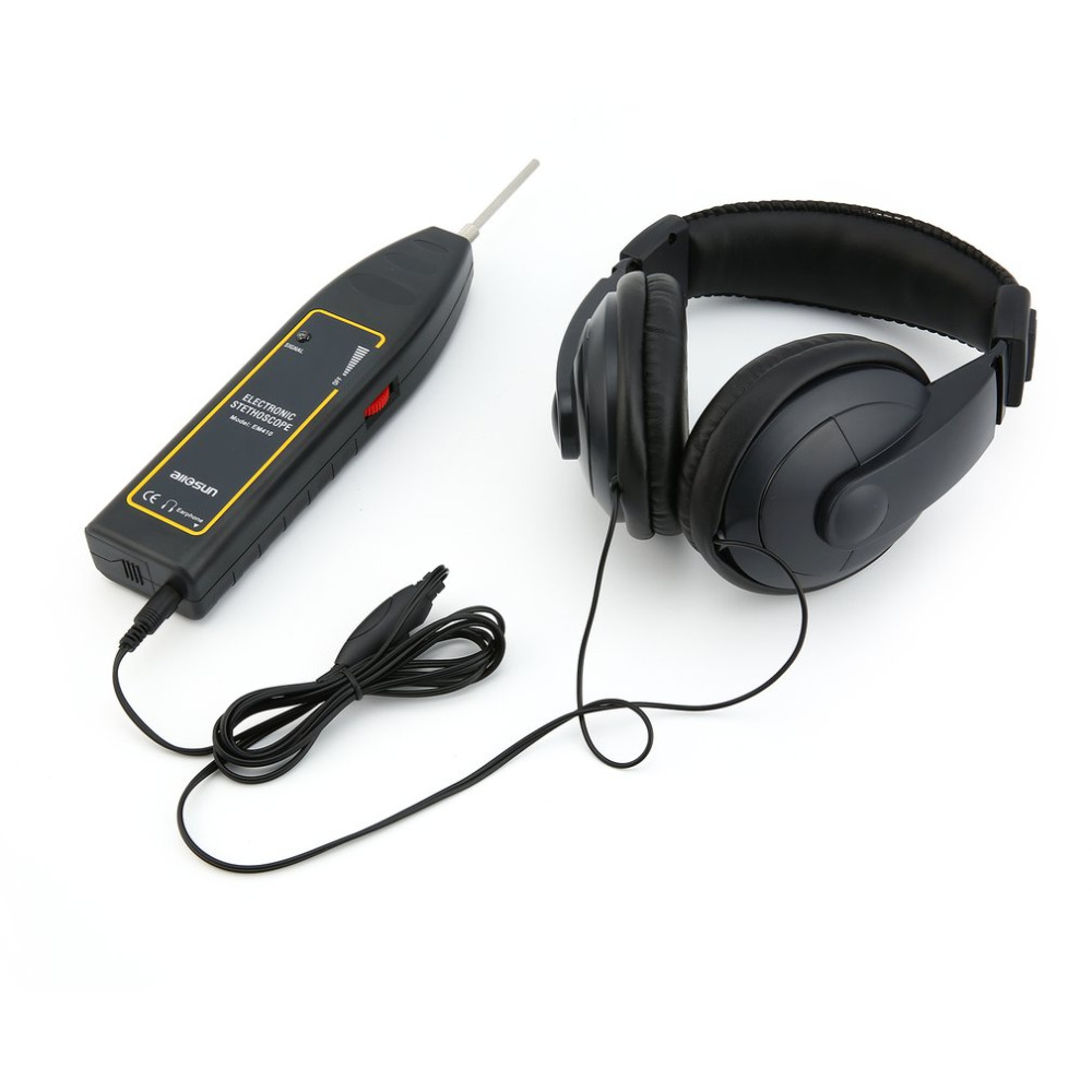 Motor Abnormal Sound Detectors Repair EM410 Automotive Electronic Stethoscope Engine The Tool For Car Machine