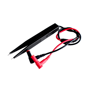 SMD Inductor Test Clip Probe Tweezers for Resistor Multimeter Capacitor High Quality Meter Clip Probe For SMD Components Measure(China)