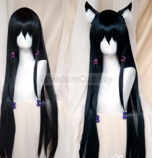How Not to Summon a Demon Lord Rem Galleu Cosplay hairwear with ears both include