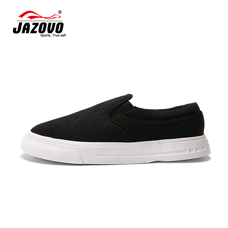 ФОТО New 2016 Jazovo Man Lazy Black Skateboarding Shoes Driving Shoes Flat Shoes size 40-43