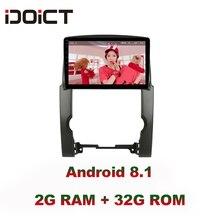 IDOICT Android 8,1 ips 2 г + 32 г 8 ядерный автомобильный dvd-плеер gps навигация Мультимедиа для KIA Sorento радио 2009-2012 стерео