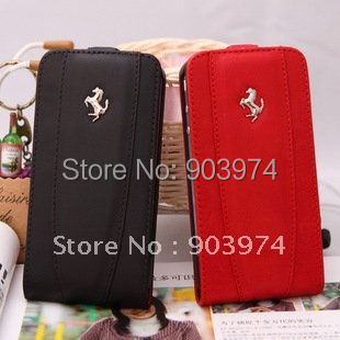 Free Shipping Genuine Leather Case for iphone 5s,  Cow Leather Case for iphone 5s, Mobile Phone Leather Case wholesale