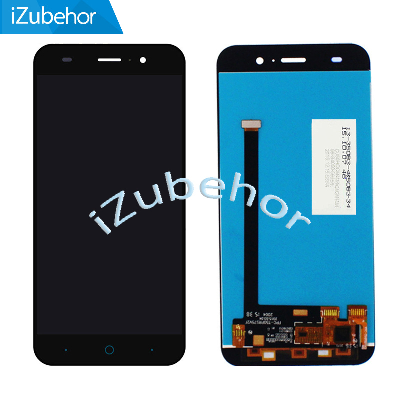 100% Warranty Black and White LCD Screen Display with Touch Screen Digitizer For ZTE Blade X7 D6 V6 Z7 T660 T663 Free Shipping image
