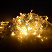 Waterproof IP65 Outdoor 20M 200 LED 8 Modes Fairy String Light for Wedding Christmas Party Holiday Decoration Free Shipping