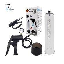 neweast dual water air function penis enlargement hercules cock enlarger pump with watch Pressure gauge sex toys for men male
