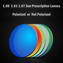 ef00e4af0c0 100Eyewear HD Index 1.56 1.61 1.67 Polarized Sun Lenses CR-39 for Optical