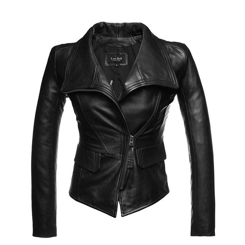 High Quality Wholesale genuine leather jacket women from China ...