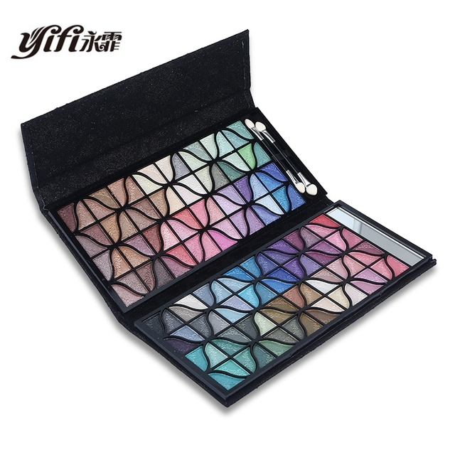 Colorful Makeup Banquet 128 Color Glitter Eye Shadow Matte Shimmer Metallic Eyeshadow Palette Cosmetic naked palette Makeup Sets