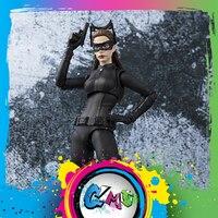 CMT Original BANDAI Catwoman The Dark Knight Action Figure Anime Toys Figure