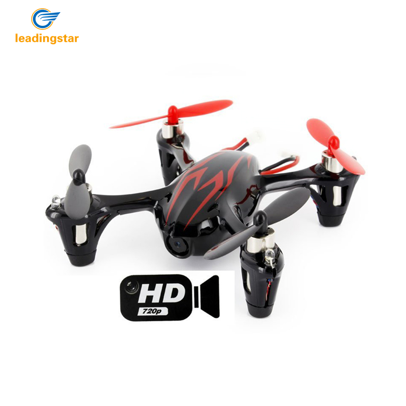 LeadingStar RC Mini Drone With Camera X4 H107C 2.4G 4CH 6 Axis Gyro Dron Brushless Motor Helicopter with HD Camera Toys zk35