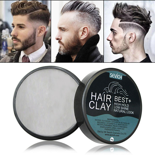 Sevich Hair Styling Clay Long Lasting Dry Stereotypes Type Clay 80g