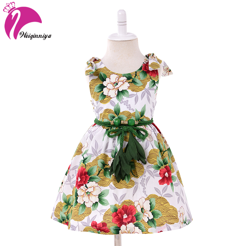 цена на Girl Dress Summer Vestidos Children Girls Sequins Party Princess Dress&Belt Costumes for Kids Clothes Baby Girls Party Dress