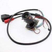 HD 1080P 2MP CCTV Network IP Camera Module Audio IPC board Mic XMeye ONVIF H.265+ 2.8 12mm lens