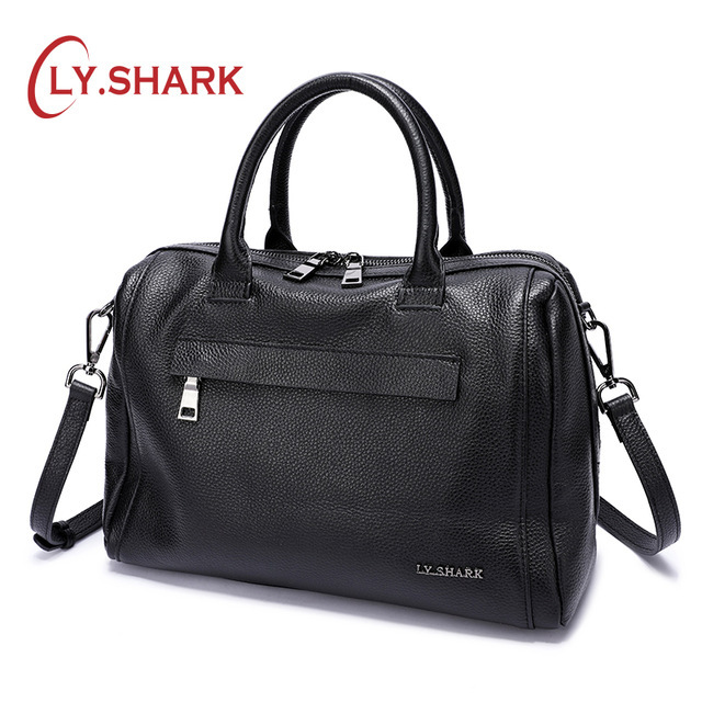 LY.SHARK Genuine Leather Women Bag Shoulder Bag Ladies Crossbody Bag Women Handbags Messenger Bag For Women 2019 Handbags Female