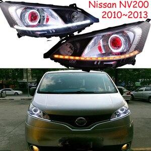 Image 1 - Luz delantera de coche para pantalla de vídeo RHD LHD, faros delanteros NV200 de 2009 a 2014, faro delantero NV200 NV 200 DRL HI LO HID de xenón
