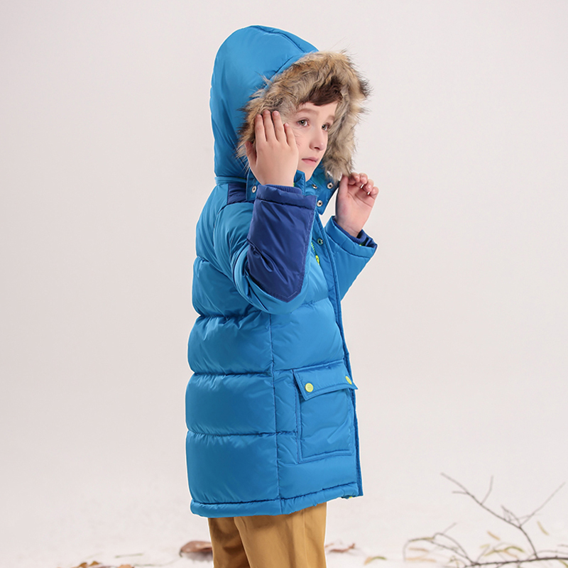 kids winter coat 2018 boys winter jacket with fur Detachable hooded kids boy jacket Microfiber lining warm padded coat girl winter coat 2017 flannel lining larger hooded warm padded cotton kids jacket suitable for extremely cold weather