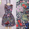 429 Autumn And Winter Women S Fabric Big Flower Plant Yarn Dyed Jacquard Dress Dress Suit