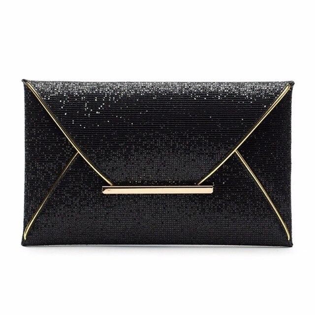 Aliexpress.com : Buy Envelope Clutch Lady Sparkling Dazzling Bag ...
