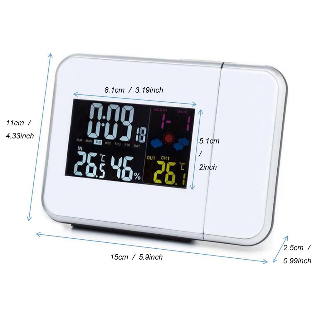 Projektimi dixhital Ora e motit e alarmit Projektimi me temperaturën - Dekor në shtëpi - Foto 5