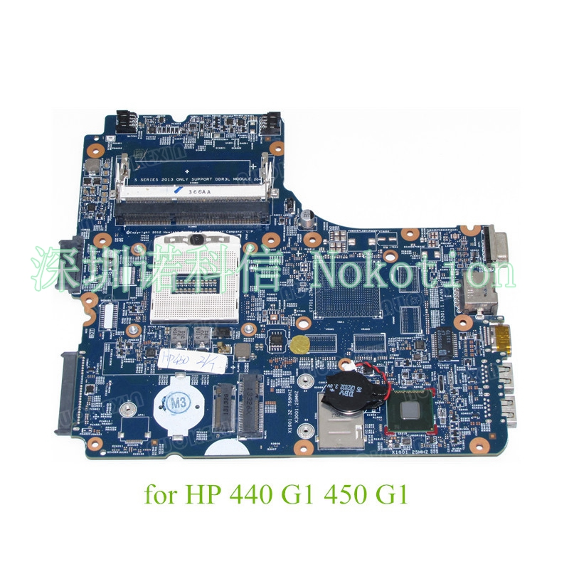 NOKOTION 756188-001 48.4YW05.011 for HP ProBook 440 G1 450 G1 Motherboard 4th Generation 756188 001 756188 501 48 4yw05 011 756188 601 for hp probook 440 g1 450 g1 notebook motherboard 4th generation free shipping