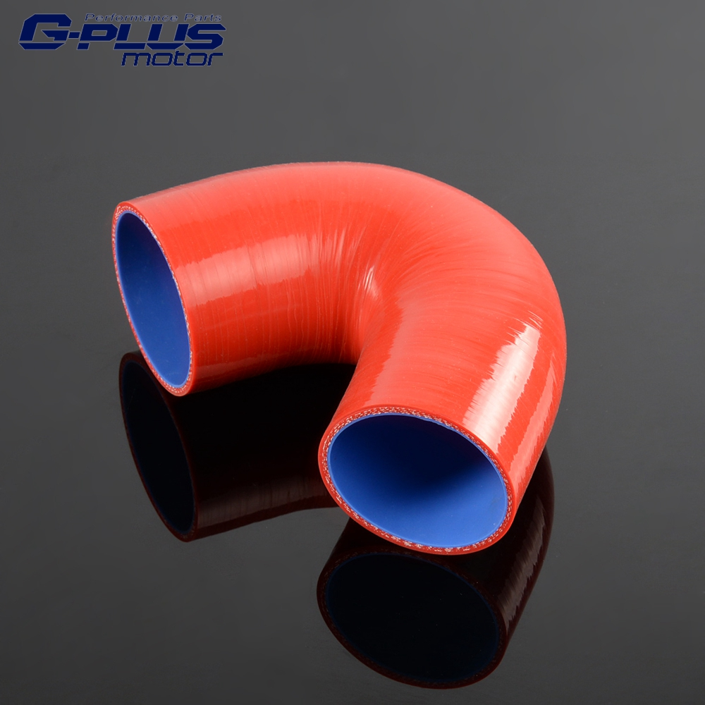 Free Shipping Silicone 135 Degree Elbow Transition Hose 3/76mm-4/102mm Inch