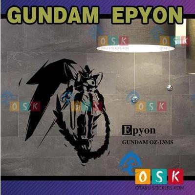 Japonesa de Dibujos Animados Fans SEMILLA EPYON GUNDAM Unicorn Pared de Vinilo P