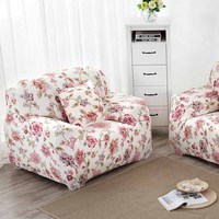 Stretch Sofa Covers Pillow Case Set Soft Slipcovers Elastic Cover For Single Seat HG99