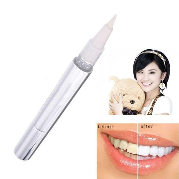 Popular bolígrafo blanco para blanquear los dientes, Gel blanqueador, blanqueador dental, elimina las manchas, higiene bucal, gran oferta