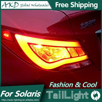 One Stop Shopping Styling For Hyundai Accent LED Tail Lights 2011 2013 Solaris Tail Light Verna