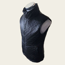 Invisible hard stab service Interfax steel armor vest leather coat collar self-defense anti- knife to cut the neck
