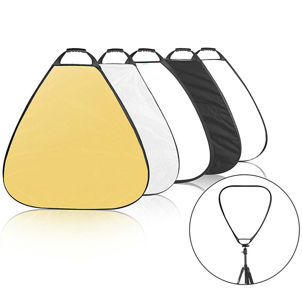 Neewer/® 5 in 1 Portable Round 32Inch//80cm Multi Camera Lighting Reflector//Diffuser Kit with Grip and Carrying Case for Photpgraphy 32 Round