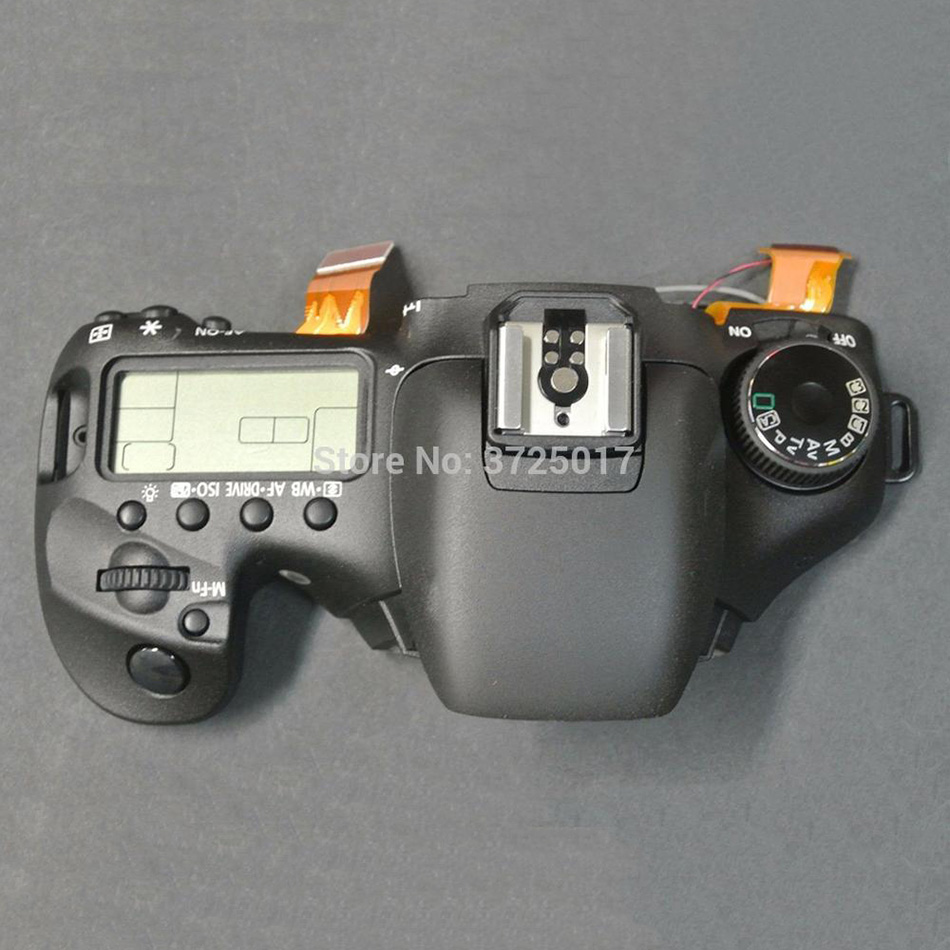 95%New original Top cover assy with Shoulder screen and Push button switch Repair parts for Canon EOS 7D DS126251 SLR