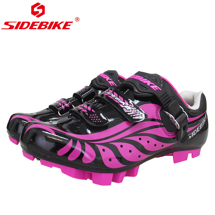 Sidebike Breathable Women Professional Self-Locking Cycling Shoes MTB Bicycle Shoes Non-Slip Bike Shoes sapatilha ciclismo Sidebike Breathable Women Professional Self-Locking Cycling Shoes MTB Bicycle Shoes Non-Slip Bike Shoes sapatilha ciclismo