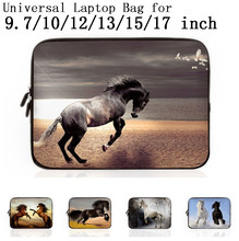 Neoprene Laptop Sleeve Case Cover For 9.7 10 11 12 13 15 17 17.3 inch Notebook Netbook Mini PC Capa Para Notebook 15.6 13.3