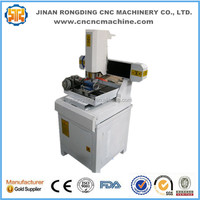 With rotary device small cnc milling machine/benchtop cnc