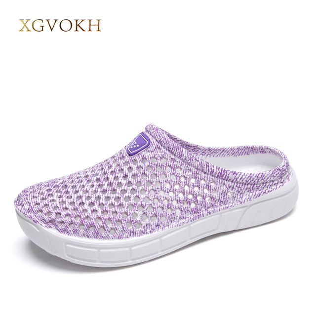 New Women Summer Beach Sandals Hollow Shoes Travel Outdoor Women's Leisure Slippers Solid Comfortable Loafers