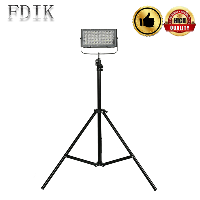 Outdoor Waterproof Spot Light DC12-85V 50W LED Flood Light Xtra Bright LED Camping Lamp Tripod Extensible Night Market Lights