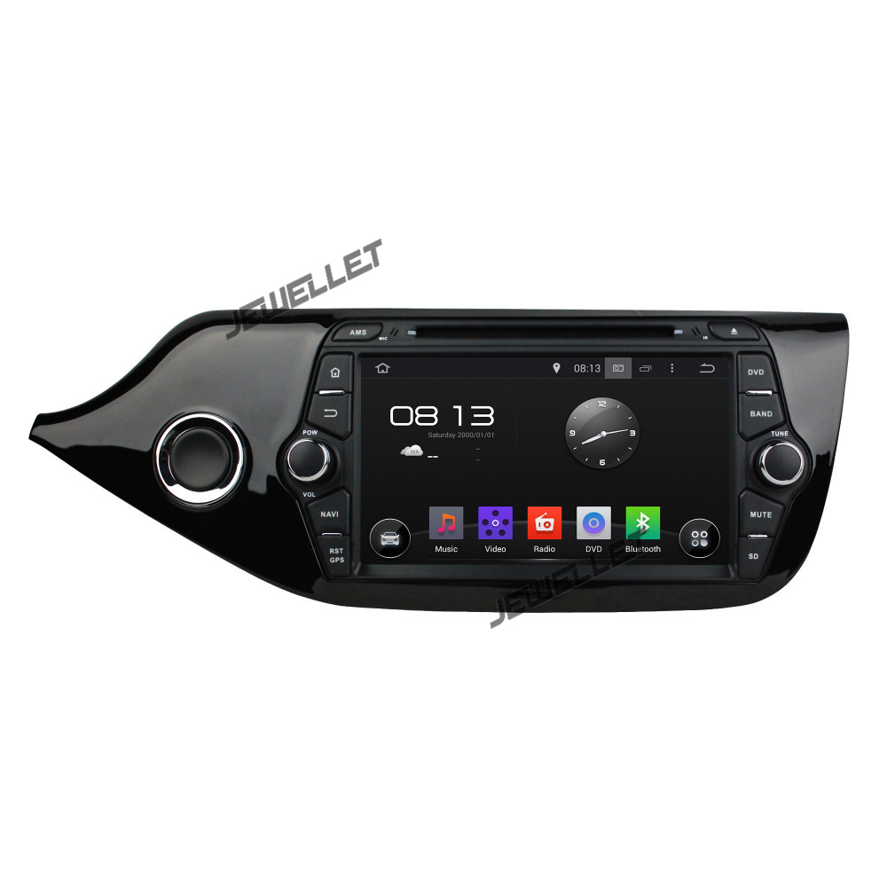 Octa core IPS screen Android 9.0 Car DVD GPS radio Navigation for Kia Ceed 2013-2016 with 4G/Wifi DVR OBD mirror link 1080P image