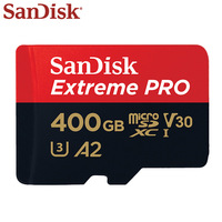 SanDisk Micro SD Card 400GB High Speed 170MB/s V30 Memory Card Class 10 UHS-I A2 Flash Card U3 Extreme Pro TF Card Microsd