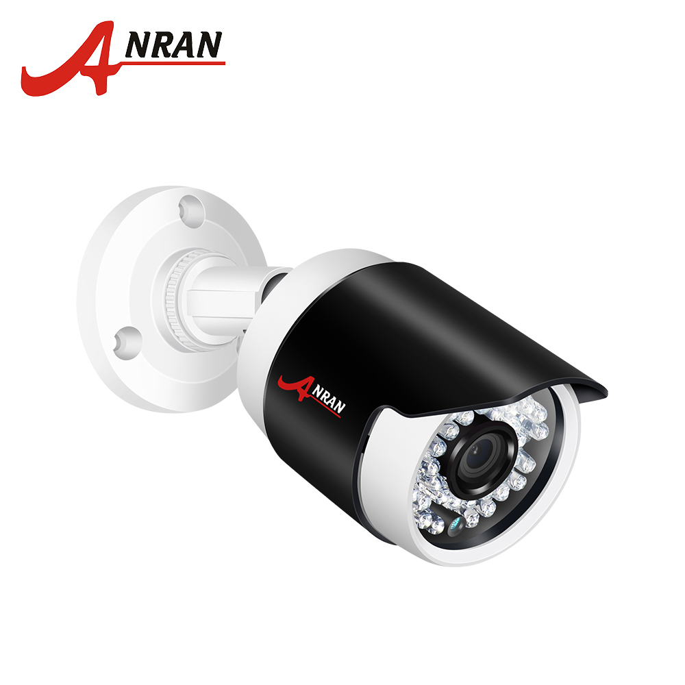 ANRAN Full HD 2.0MP Security POE Camera IP Camera outdoor waterproof Night Vision Security CCTV Camera Security P2P ONVIF Cam