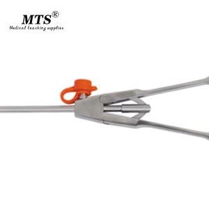 Image 2 - MTS tıbbi endoskop cerrahi aracı o tipi İğne tutucu forseps düz kafa laparoskopik cerrahi için