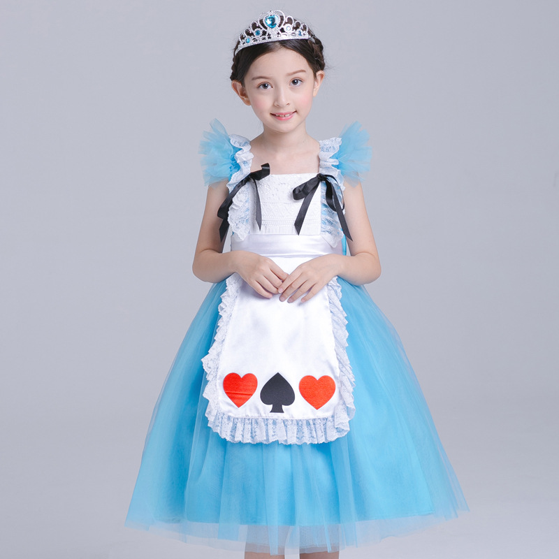 Z056 Halloween costume Princess dress suit Costume maid outfit, Cosplay Girl party ball down Christmas Dress New year clothes