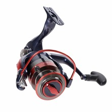 New Water Resistant Spinning Fishing Reels Left/Right Handle Metal Spool 12BB metal folding rocker arm 2000-7000 Fishing wheel