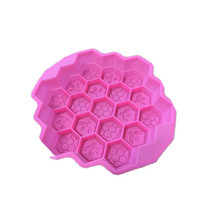 Silica gel cake mold Chocolate Mold DIY baking honeybee nest soap mold