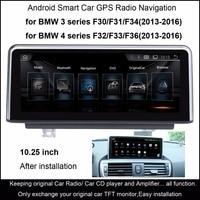 10 25 Inch Car Multimedia Player For BMW 3 Series F30 F31 F34 2013 2016 4