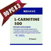 2016 Hot Sale Buy 2 Get 1 Bottle 90 3 270 Caps L Carnitine Add Fat