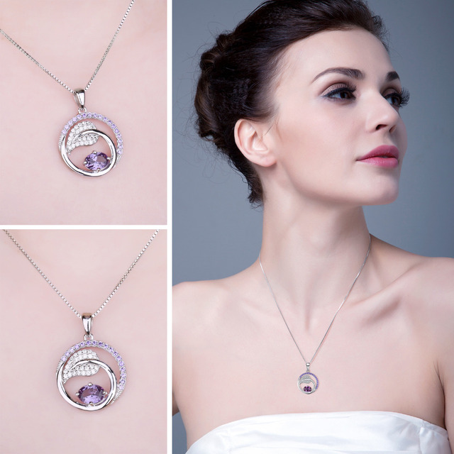 Created Alexandrite Sapphire Pendant